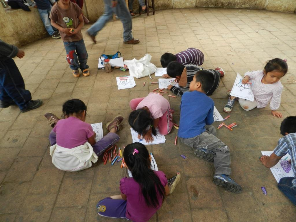 Learning activities at Santo Domingo