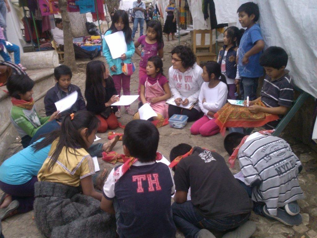 Learning circles in Santo Domingo