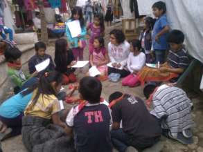 Learning circles in Santo Domingo