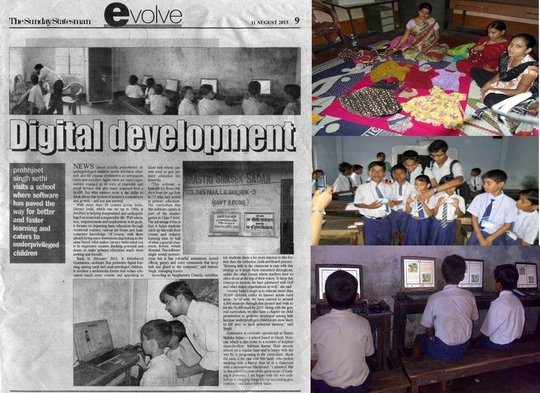 Activity photographs & Media coverage of ICT