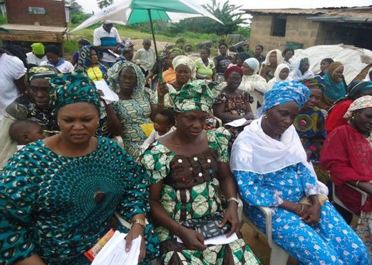 Train 300 rural women on women's rights in Nigeria