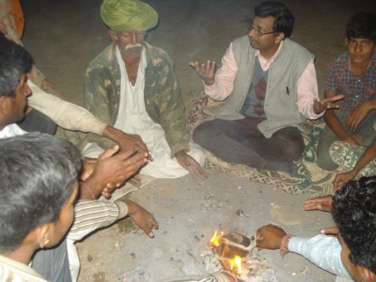 Brain storming meetings with Pastoralists