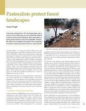 Pastoralists protect landscape (PDF)