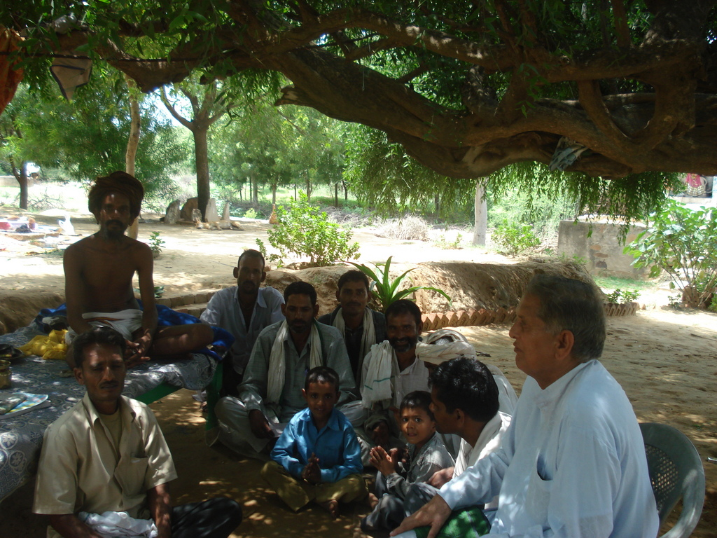 Photo-- Village priests and older people are good at identifying