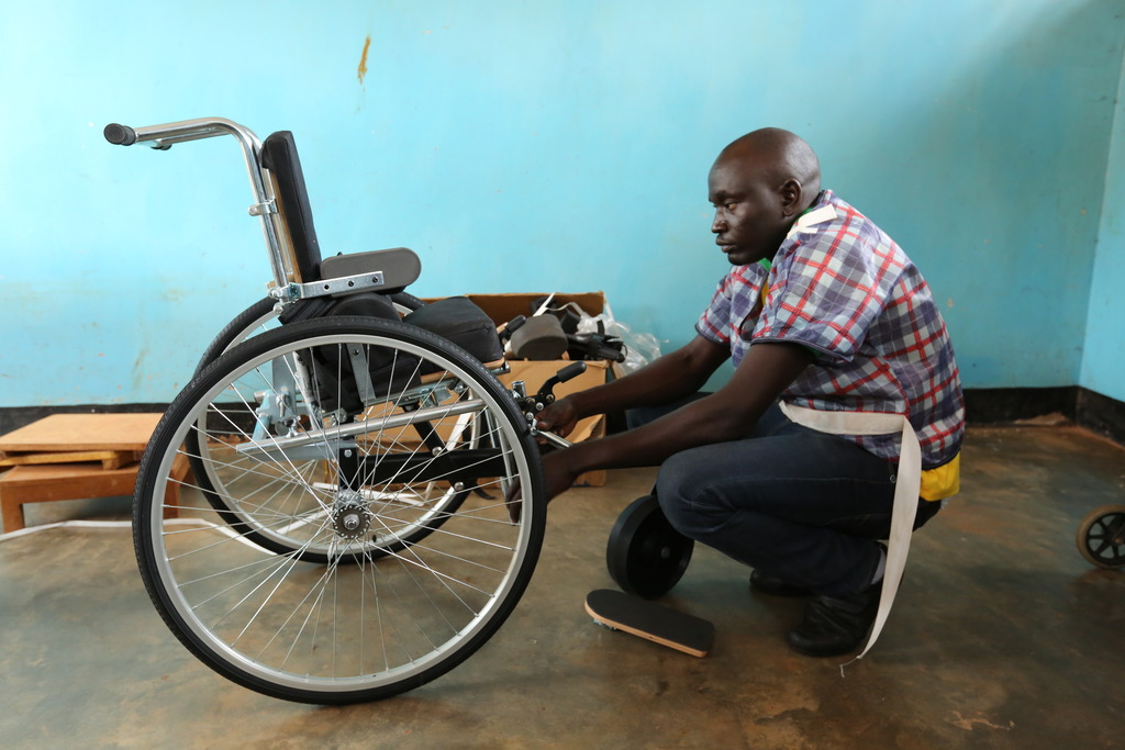 Custom built wheelchairs