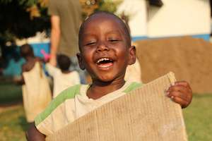 At St. Jude Children's Home there is happiness.
