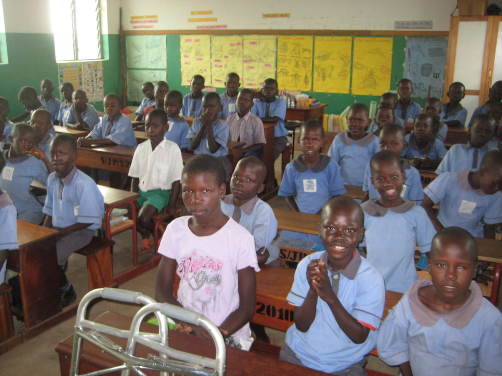 Provide disability care and education in Uganda