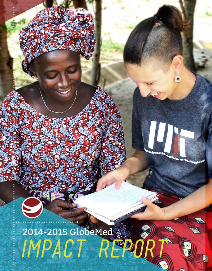 2014-2015 GlobeMed Impact Report