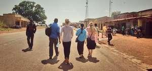 GlobeMed at UCLA's GROW team in Anaka, Uganda