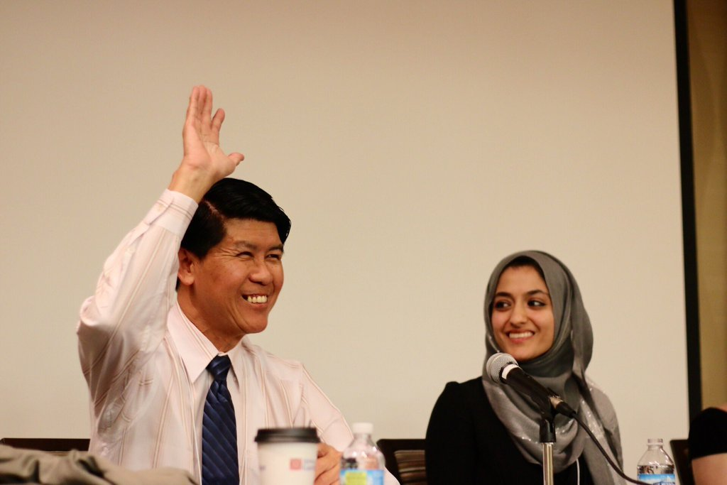 Dr. Htin Zaw and Sadia Nawab, Community Inclusion