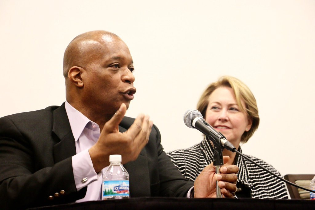 Dr. Jacob Gayle and Dr. Sharon Rudy, Keynote Panel