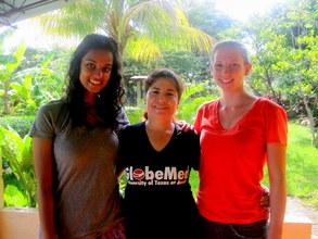GROW interns Madison & Rashi w/Nurse Marlene Cruz