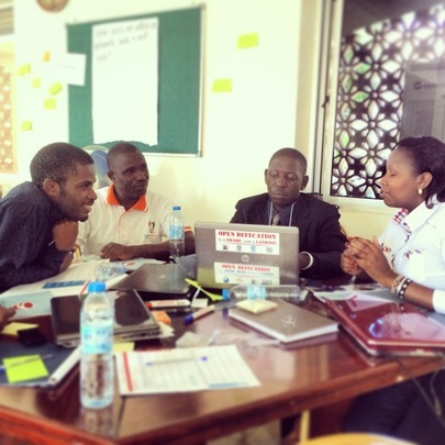 Partners from Uganda & Kenya learn from each other