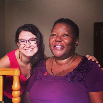 Alyssa & Dr. Noerine Kaleeba, Founder of TASO