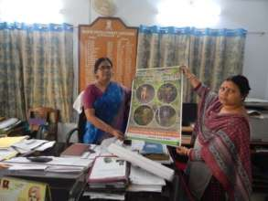 3) Distribution of poster to the BDOs