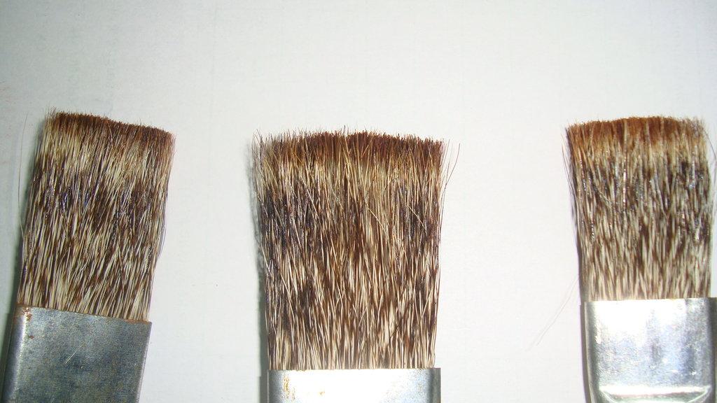 Mongoose hair brushes