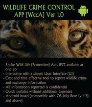 Wildlife Crime Control App