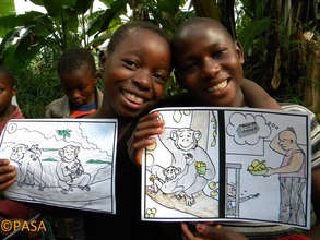 PASA primate conservation coloring book