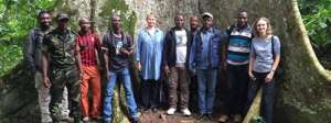 The sanctuary staff from Cameroon