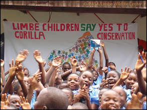 Local kids support gorilla conservation