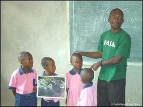 Jeta James Fawoh, Ape Action Africa educator