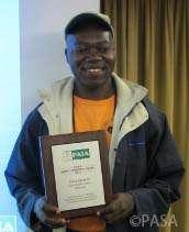 Ateh Wilson, Limbe Wildlife Center educator