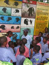Sanctuary field trip in Sierra Leone