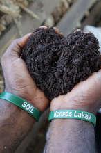 "SOIL's EcoSan compost - ""Konpos Lakay"""
