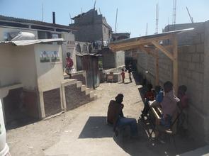 A SOIL public toilet in Shada, Cap-Haitien