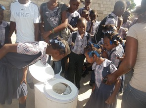 Children at a SOIL community outreach event