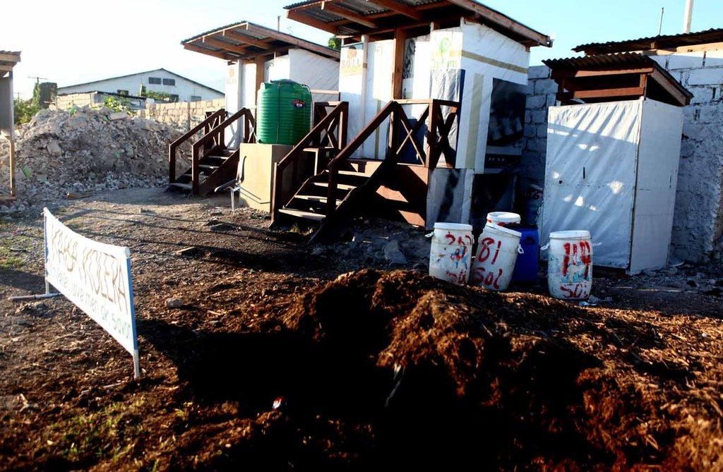 Aba Kolera - Down with cholera!