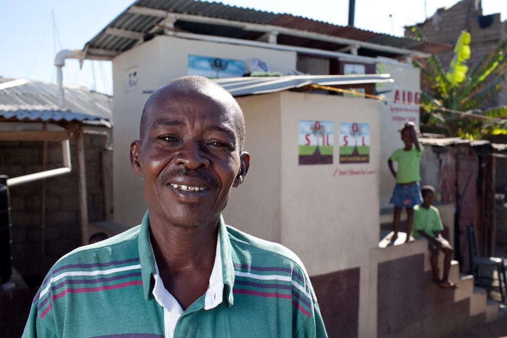 """Tony """"Bos Tony"""" Sinius, SOIL PUblic Toilet Manager"""
