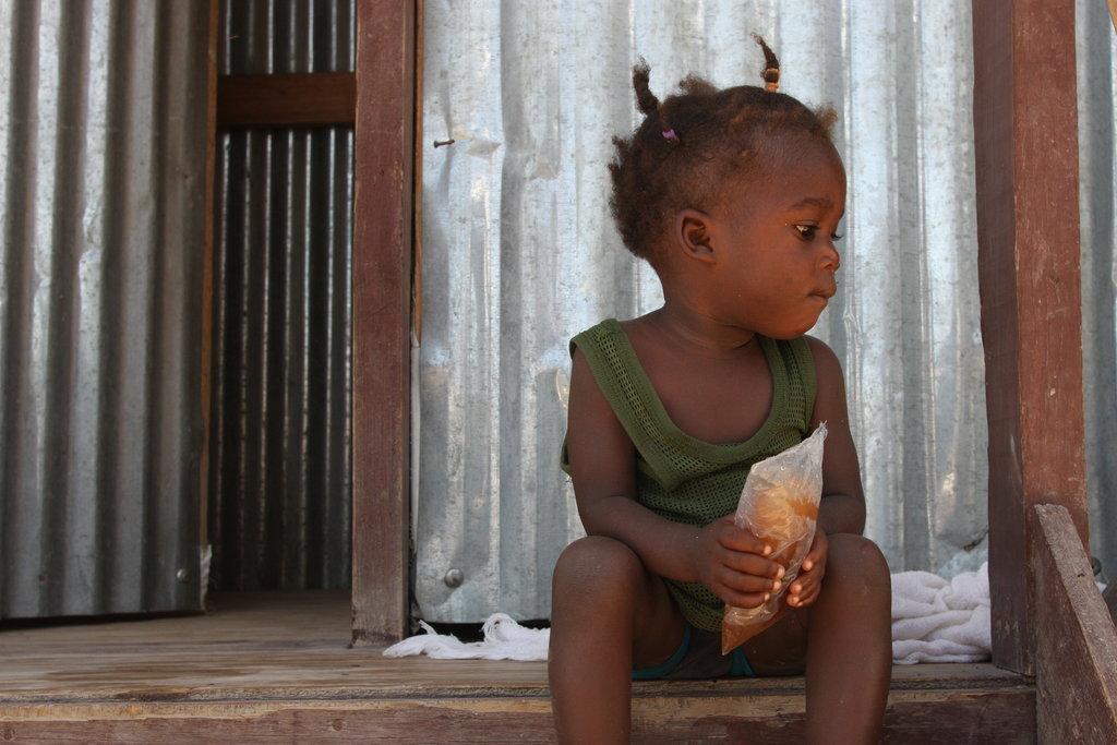 Sanitation for 3,500 Earthquake Victims in Haiti