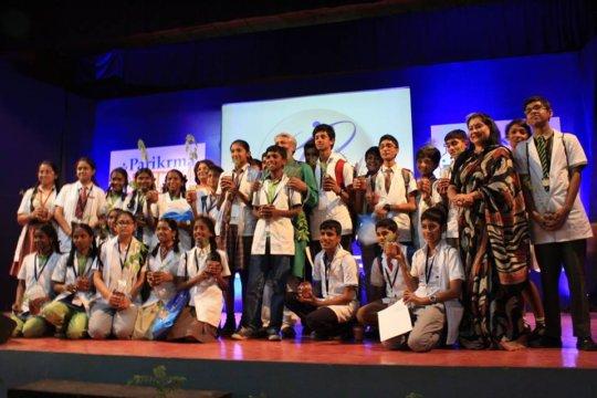 g4g with Parikrma school