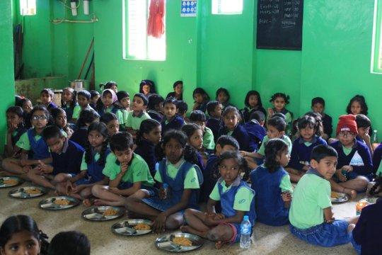 Parikrma school - g4g scholarship students attend