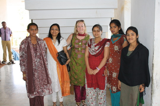 Our greenlight girls at Nele, Bangalore India
