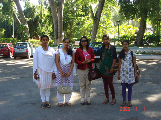 Lunch outing with the girls and Chandana
