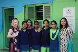 Greenlight for Girls visits Parikrma in Bangalore