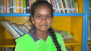 Ramya, one of the 4 girls from Parikrma