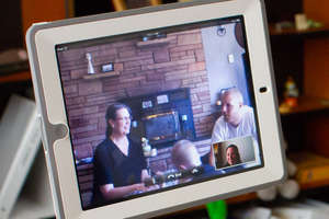 Virtual Home Visit Session