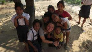 Antonia with children from Bena Jema