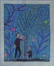 Lastenia's painting of plant spirit of Bobinsana
