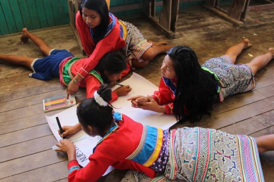 Activity from girls workshop