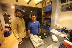 Mann's Deepak (left) trained at Studio Mujrosa