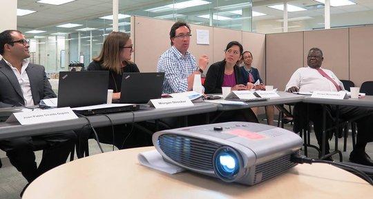 Executive Director Mary Ellen Matsui visits UNICEF