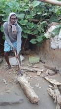 Santosh Sah Back to His Livelihood