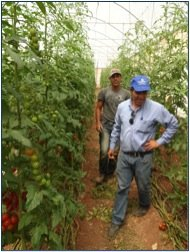 Agronomist Gnayem during training