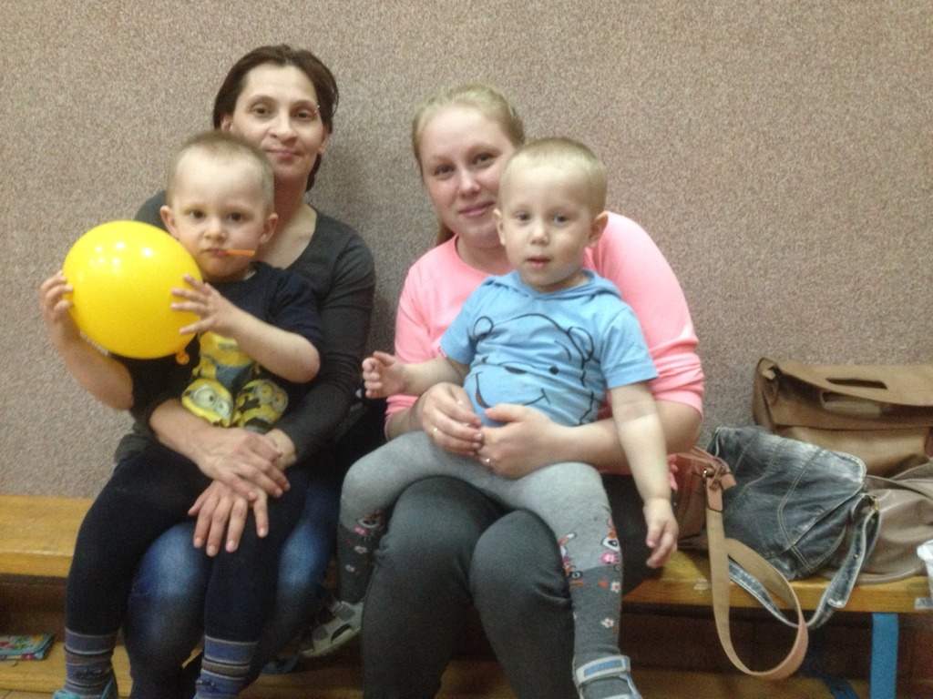 Lena and Tima, Anya and Kirill