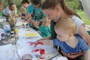 Summer camp for orphanage-leavers with children