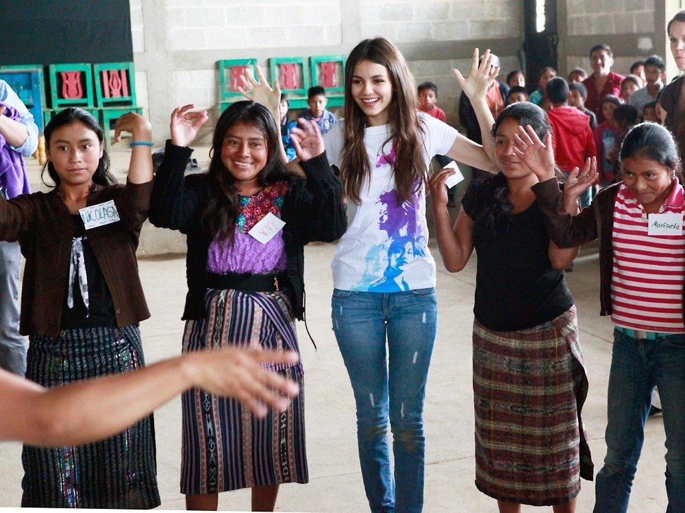 Victoria Justice visits UN programs in Guatemala